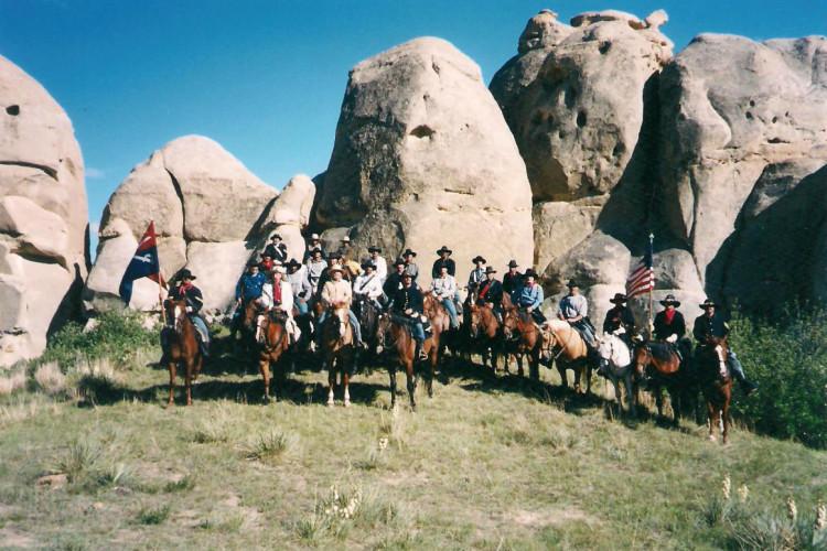 Montana history horse ride 001