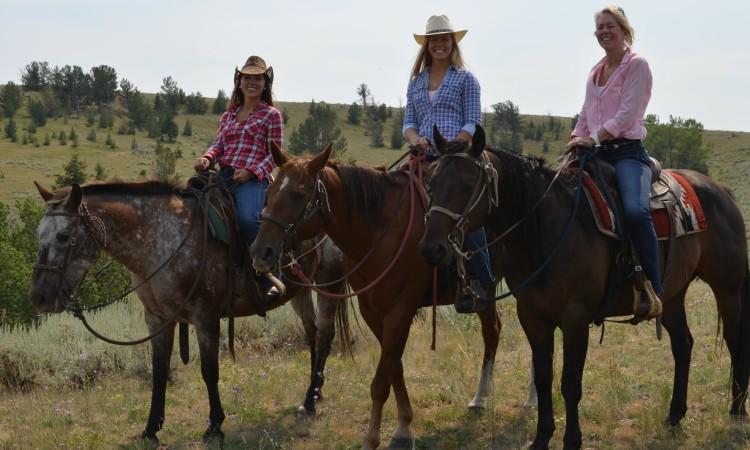 Red Lodge MT horseback riding 2013 090