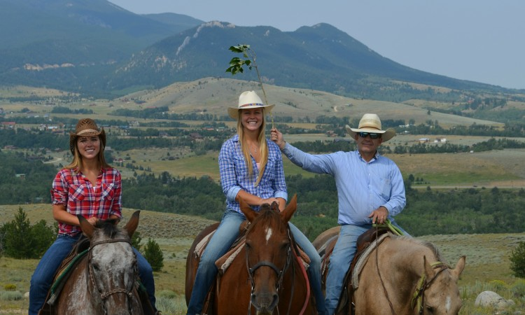 Red Lodge Montana horse ride 2013 074