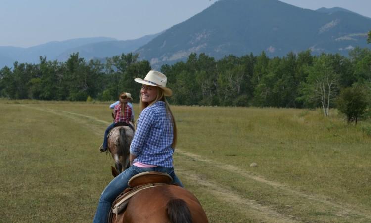 Red Lodge Montana horseback ride 2013 071
